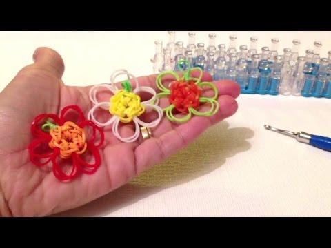 Как из резиночек сделать цветок из 95