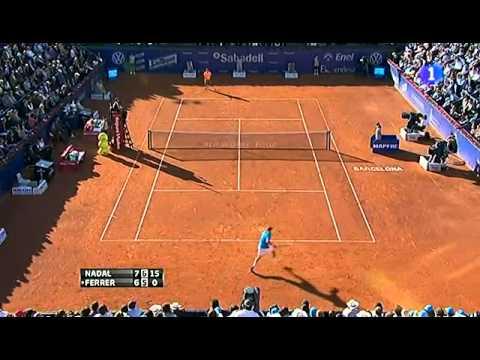 Rafael Nadal vs David Ferrer LAST GAME - FINAL Barcelona Open Banc 2012