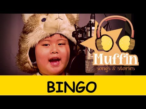 Muffin Songs - Bingo   nursery rhymes & children songs with lyrics