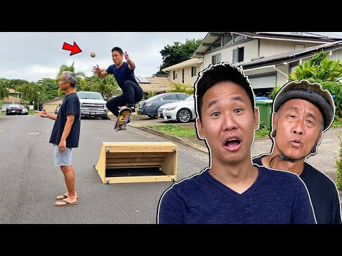 MY DAD CREATES THE ULTIMATE SKATE CHALLENGES 3