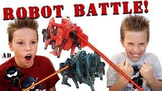 Paxton VS Ashton Hexbug Battleground!