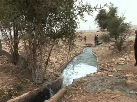 ISRAELI PALESTINIAN WATER WARS IN JORDAN VALLEY March 10th 2012