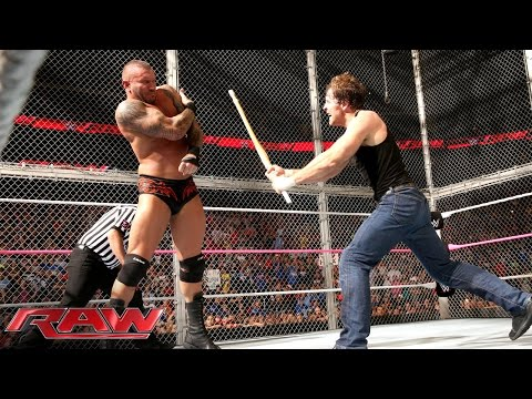 John Cena & Dean Ambrose Vs. Randy Orton, Seth Rollins & Kane - 3-on-2 Handicap Street Fight video
