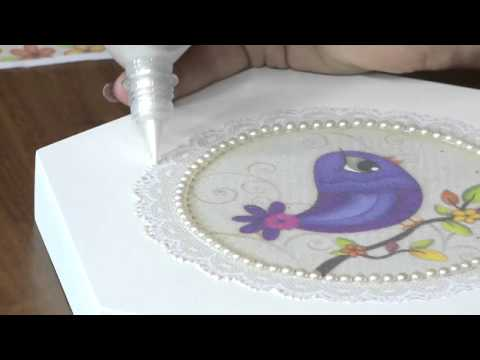 Mulher.com 12/07/2013 Marisa Magalhães - caixa com tecido