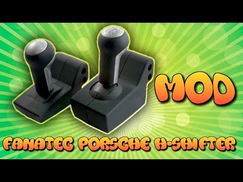 Мод КПП Fanatec Porsche | Fanatec Porsche Wheel Shifter MOD