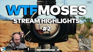 wtfmoses PUBG Highlights/Funny Moments #2 - Playerunknown's Battlegrounds Gameplay