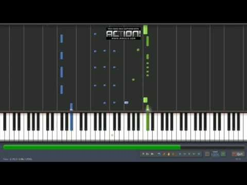 Travesuras Nicky Jam piano tutorial Synthesia korg m50 by Misael