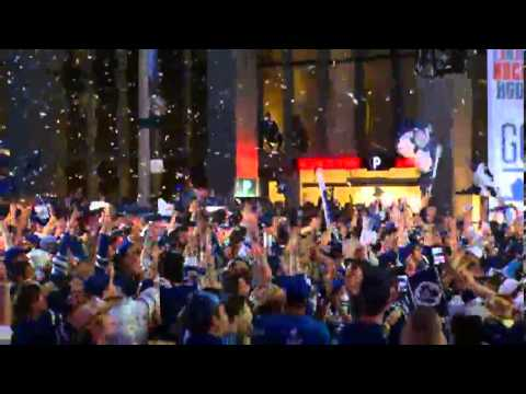 Leafs fans reaction When Gardiner Scores  05-06-2013