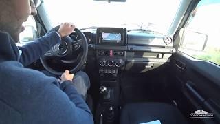 Οδηγούμε το νέο Suzuki Jimny 2018 - New Suzuki Jimny 2018 test drive in Greece