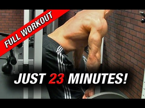 Full Back Workout (In Just 23 MINUTES!!)