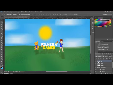 Speed Art - Banner Vilhena - Avisos Importantes!
