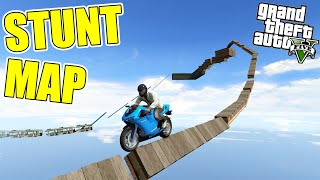 STUNT MAP - Grand Theft Auto 5 - MODY 11