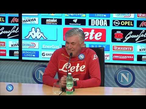 vigilia di Genoa - Napoli. conferenza stampa