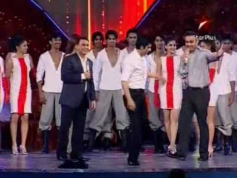 Sachin Tendulkar DANCING  with SRK in Sahara INDIA Sports Awards
