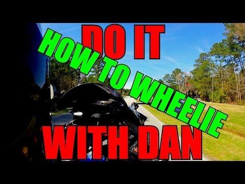 How To Do A Wheelie - Wheelie Tutorial