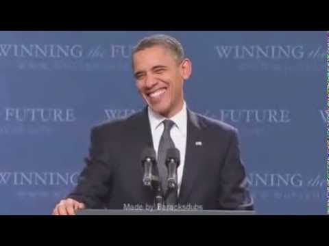 Barack Obama Sings Just Lose It By Eminem video