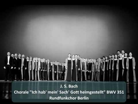 Бах Иоганн Себастьян - Ich hab mein Sach