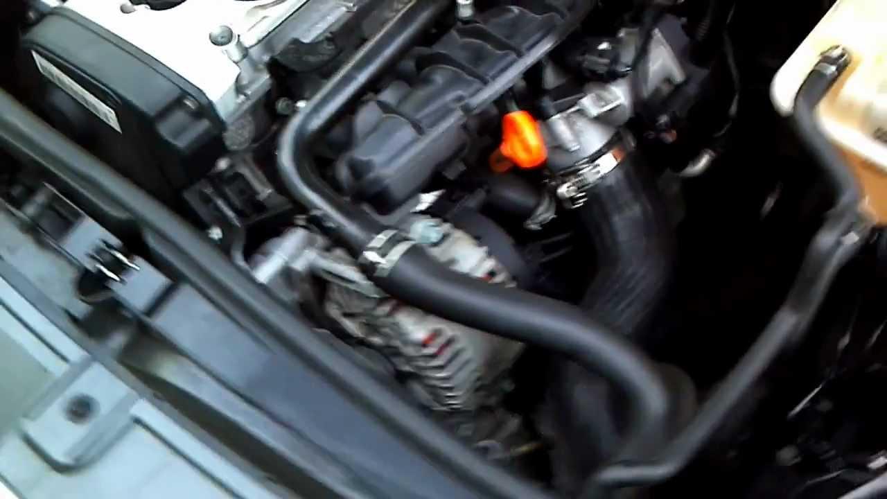 Audi Engine Pcv Noise M4v Youtube
