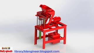 Brick machine    Download free 3D cad models #100105