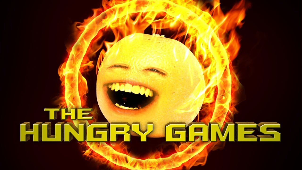 Annoying Orange The Hungry Games Hunger Games Spoof