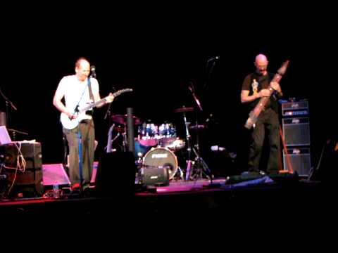 Adrian Belew, Tony Levin, Pat Mastelotto and Markus Reuter Knoxville, TN 9-21-11
