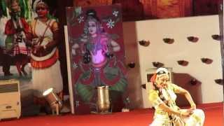 Brilliant dance performance of Smt. Manju Warrier at Nishagandhi Festival 2013 on the Republic day. Lyrics composed by Maharaja Sree Swati Thirunal in Brinda...