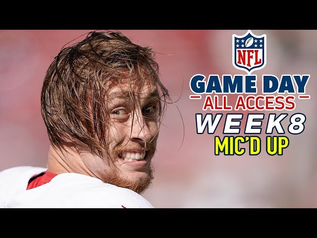 NFL Week 8 Mic39d Up, quotHis quads are a mixture of maple syrup amp dieselquot  Game Day All Access