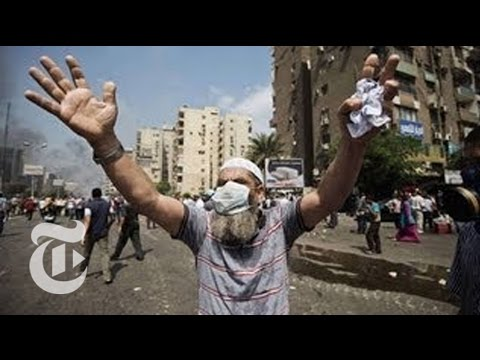 Egypt Protest 2013: Video of Crack Down on Sit-Ins