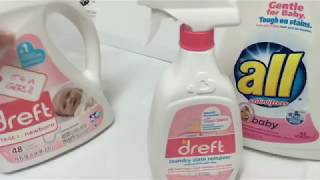 How I wash my newborn baby clothes