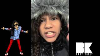 "BABY KAELY Car Rap ""KLASSIC CYPHER"" 11yr old rapper BEAT BY MIKE KALOMBO!"