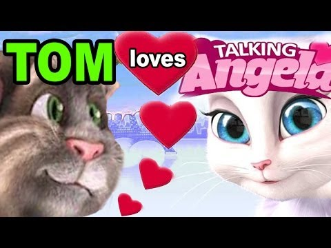 Talking Angela: Tom Cat Is In Love video