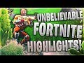 YOU WILL NOT BELIEVE THESE FORTNITE HIGHLIGHTS! (Clickbait?! Come find out) MP3