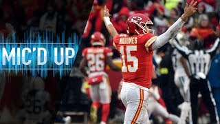Colts vs. Chiefs Mic'd Up for Showtime! (AFC Divisional Round)