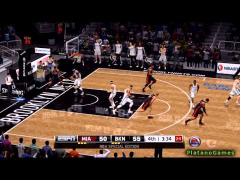 NBA Playoffs - Miami Heat vs Brooklyn Nets - Game 3 - 2nd Half - Live 14 - HD