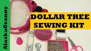 Dollar Tree Sewing Kit
