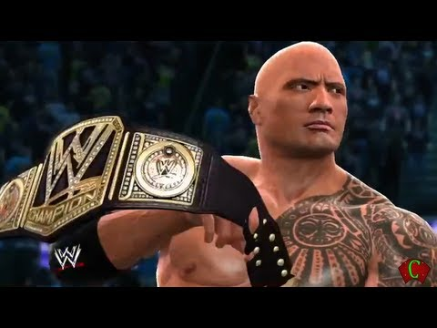 WWE 2K14 The Rock Gameplay Entrance and Finisher 【HD】 +...