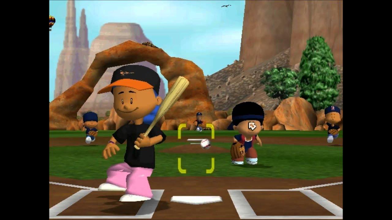 backyard baseball 2005 lets play vs orioles youtube
