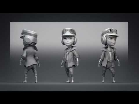Introduction to Character Modeling in Blender