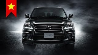 2015 Lexus LX570 Supercharger Special Edition: Luxury SUV