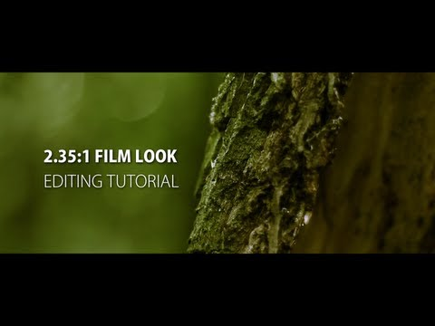 2.35:1 - Anamorphic Film Look (After Effects + Premiere Pro Tutorial)