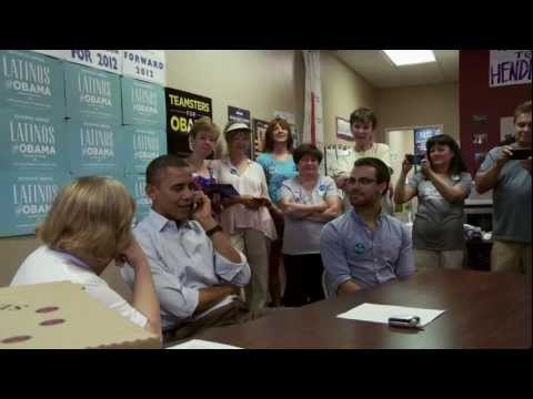 President Obama Visits the OFA Henderson, Nevada Office