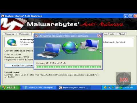 Microsoft Security Essentials Virus Test