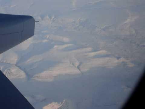 Wreckers Coast Of Northumberland. Aerial Canada, Baffin Island N