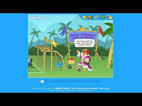 Poptropica Bedknobs and Broomsticks Mission