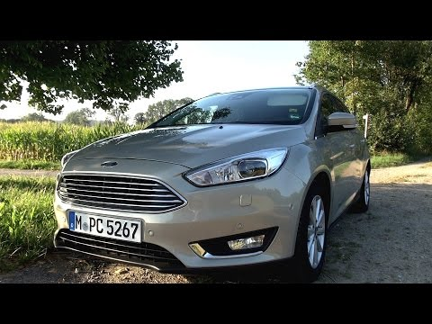 2015 Ford Focus Turnier 1.5  Ecoboost (150 HP) Test Drive