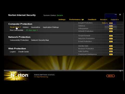 Descarga Norton Antivirus y Norton Internet Security 2011