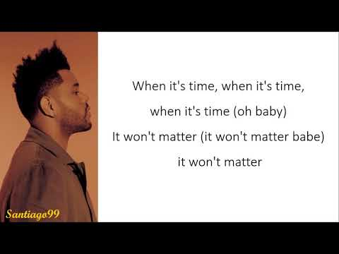 The Weeknd - I Was Never There (Lyrics)
