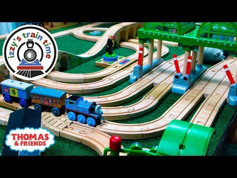 Thomas and Friends TONS OF TUNNELS |  Fun Toy Trains for Kids | Thomas Train with Brio