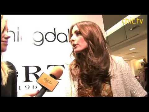 Olivia Palermo at Ports 1961 Launch at Bloomingdale's Video