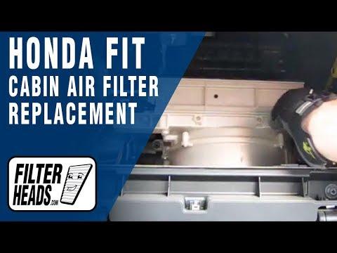 Cabin air filter replacement- Honda Fit